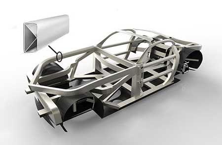 خودرویی لوکس با قدرت تانک (+عکس)