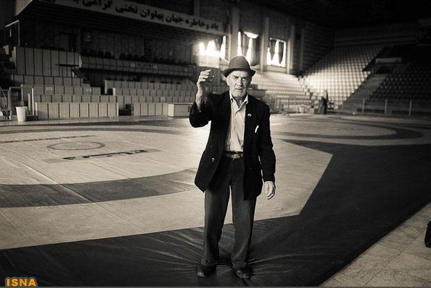 پیرترین کشتیگیر ایران درگذشت