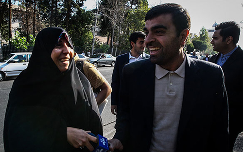 عکس العمل انتقادی فاطمه هاشمی به صداوسیما (+عکس)