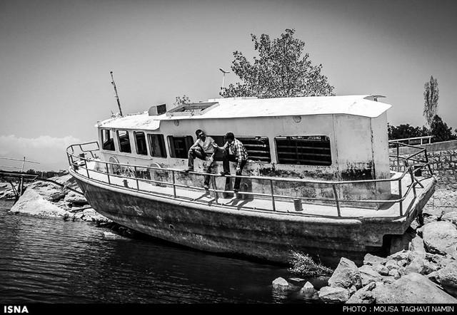 دریاچه شورابیل اردبیل (عکس)