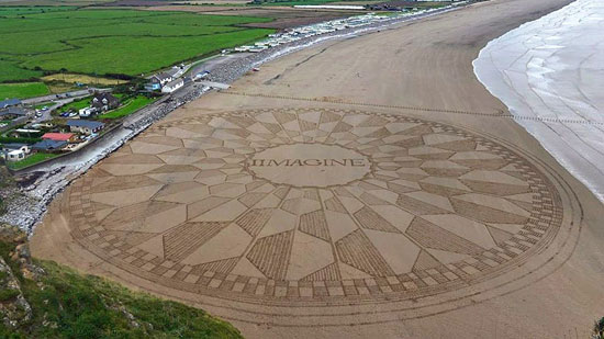 هنرنمایی عظیم ماسهای در بریتانیا (+عکس)