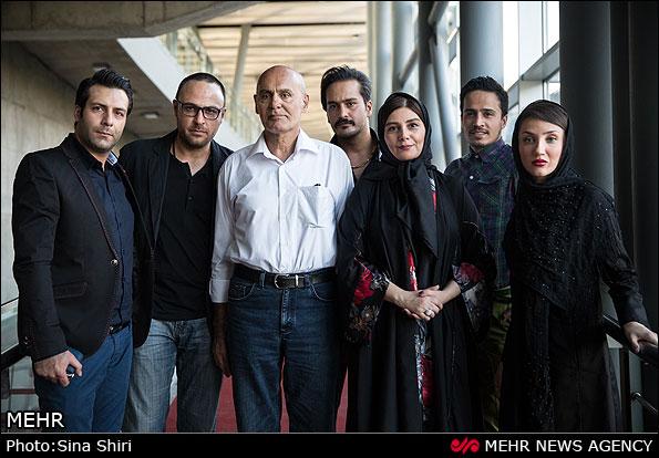 تجلیل از جمشید هاشم پور (عکس)