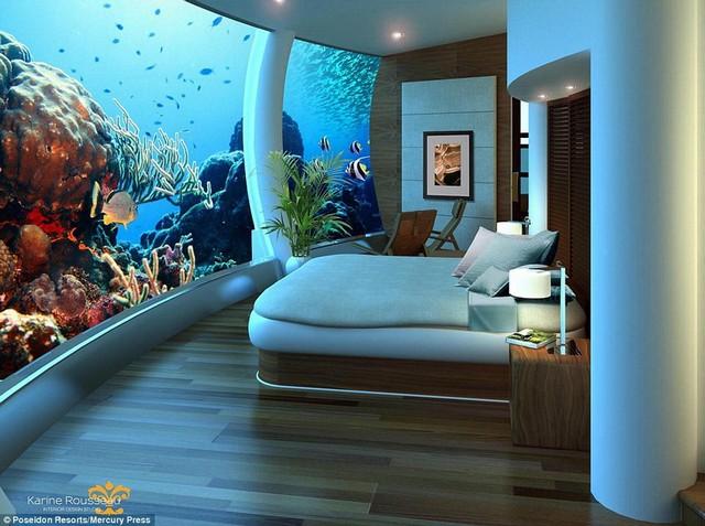 بزرگترین و زیباترین هتل زیرآبی در جهان (عکس)