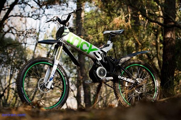 لذت سواری پاک با دوچرخه eTricks Evolution R01