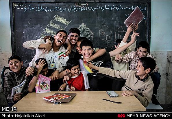یاد دوران مدرسه (عکس)