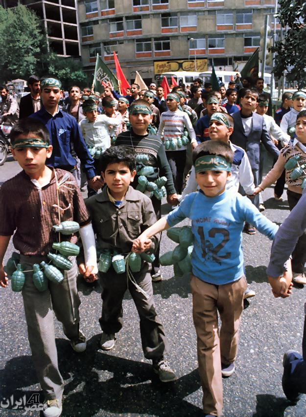 تصاویر کم تر دیده شده از دفاع 8ساله