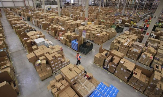 اینجا انبار Amazon است (+عکس)