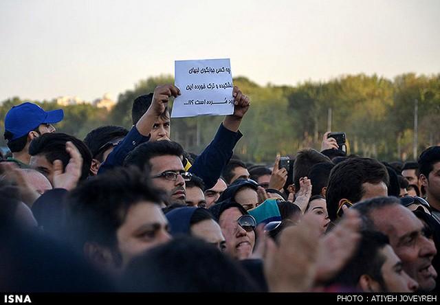 تجمع حامیان محیط زیست - سی و سه پل اصفهان (عکس)