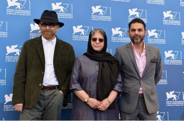 رخشان بنی اعتماد ، پیمان معادی و حبیب رضایی در جشنواره ونیز (+عکس)