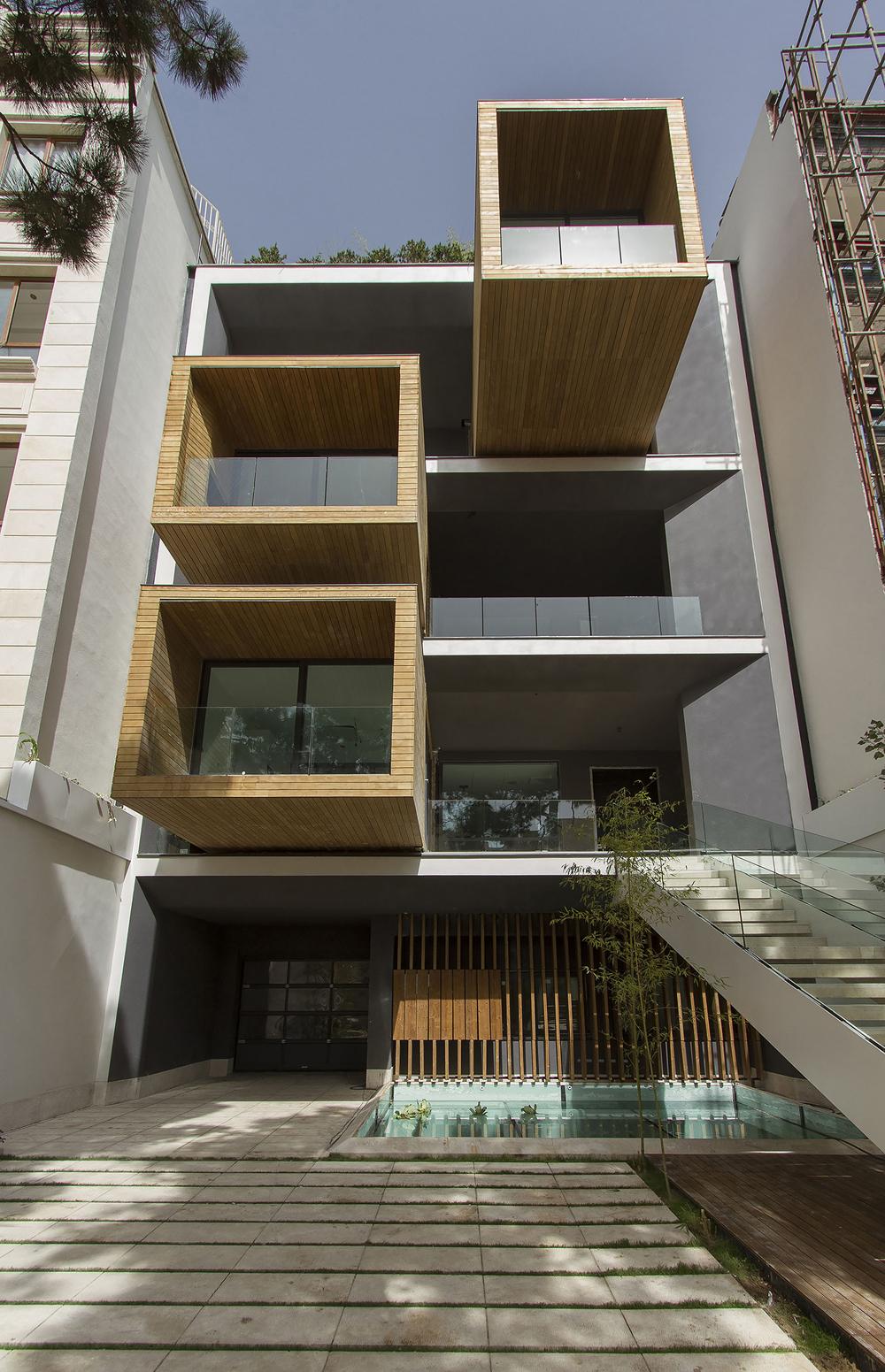 طراحی جالب خانه ای در تهران که سوژه جهانی شد (+عکس)