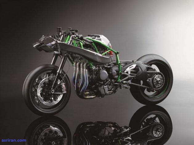 کاوازاکی نینجا H2R؛ قدرتمندترین موتورسیکلت جهان