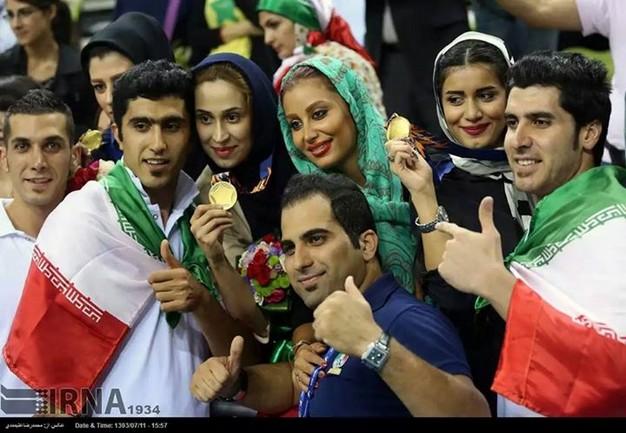 جشن قهرمانی والیبالیست ها و همسرانشان+(گزارش تصویری)