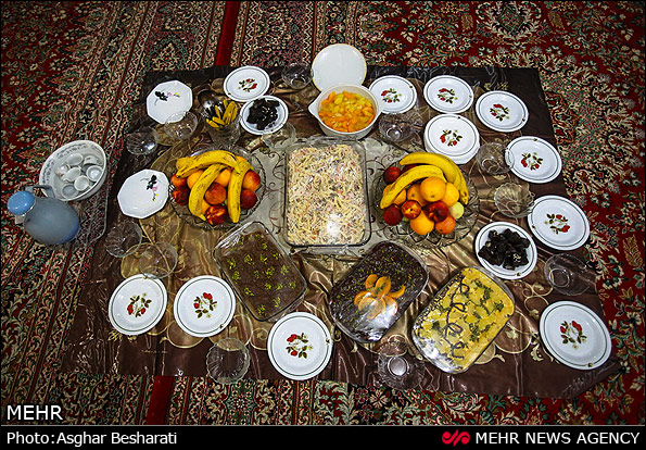 سفره های عید سعید قربان - قشم (عکس)