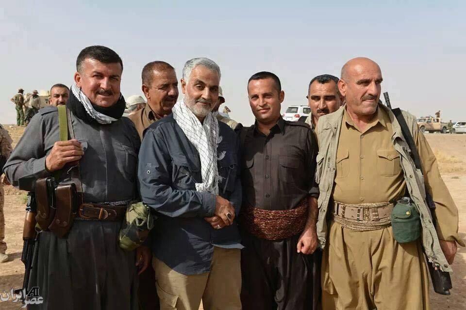 عکس جدید قاسم سلیمانی در عراق