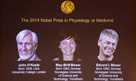 برندگان نوبل پزشکی 2014 معرفی شدند