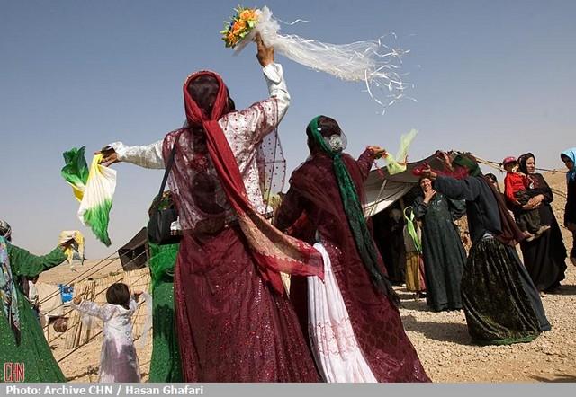 عروسی عشایر قشقایی (عکس)