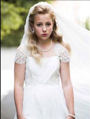 عروس تقلبی 12 ساله نروژ جنجال ساز شد(+عکس)