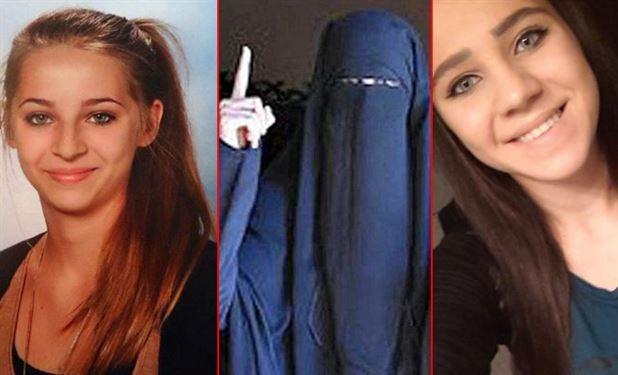 دو دختر اتریشی داعشی می خواهند به کشورشان برگردند (+عکس)