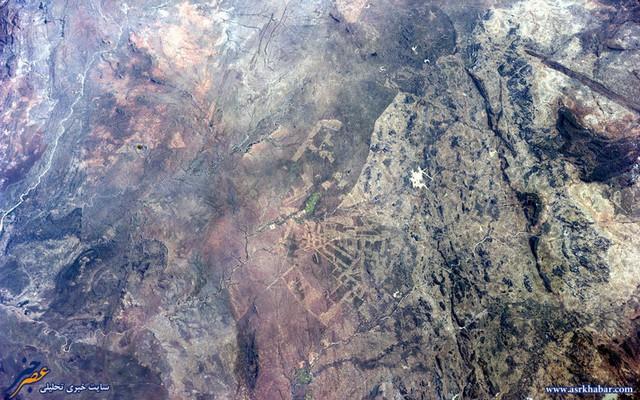 تصاویر دیدنی زمین از آسمان
