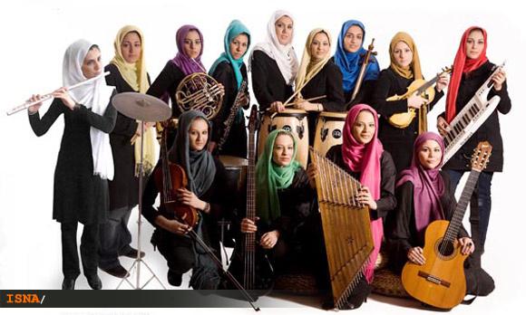 جلوگیری از نوازندگی زنان در یک کنسرت