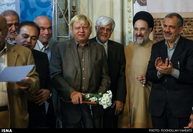 مراسم عید غدیر با حضور خاتمی (عکس)