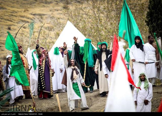 بازسازی واقعه غدیر خم (عکس)