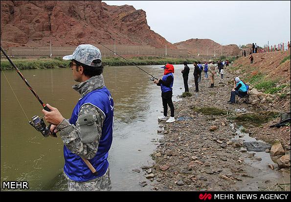 مسابقات ماهیگیری - آذربایجان (عکس)