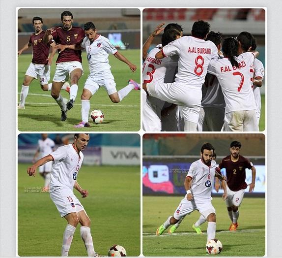 عکس درخشش قوچان نژادروی سایت الکویت