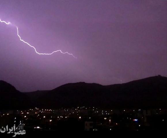 شب بارانی/ عکس کاربران