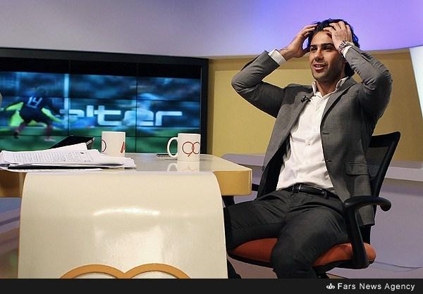 پشت صحنه برنامه نود با حضور مجیدی(گزارش تصویری)