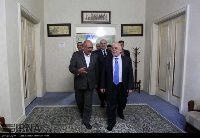 دیدار نخست وزیر عراق با آیت الله شاهرودی (عکس)