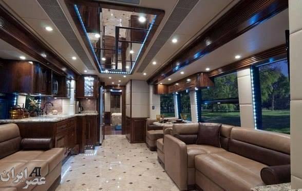 اتوبوس دو میلیون دلاری (عکس)