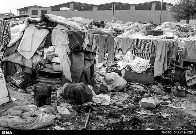 زندگی در میان زباله ها (ع )