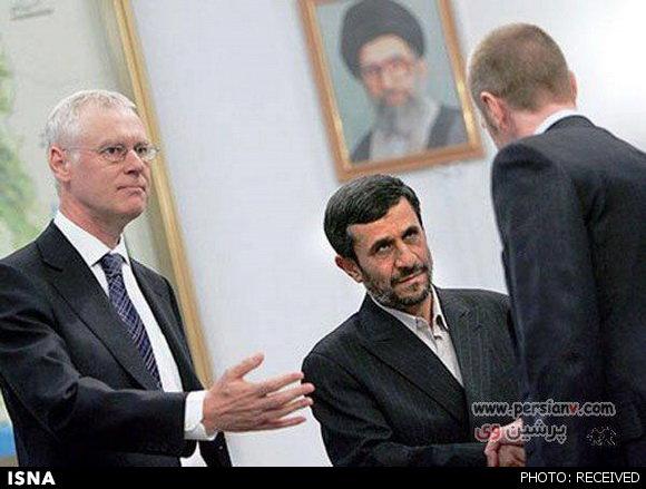 عکس «اخم احمدینژاد» تقلبی است؟