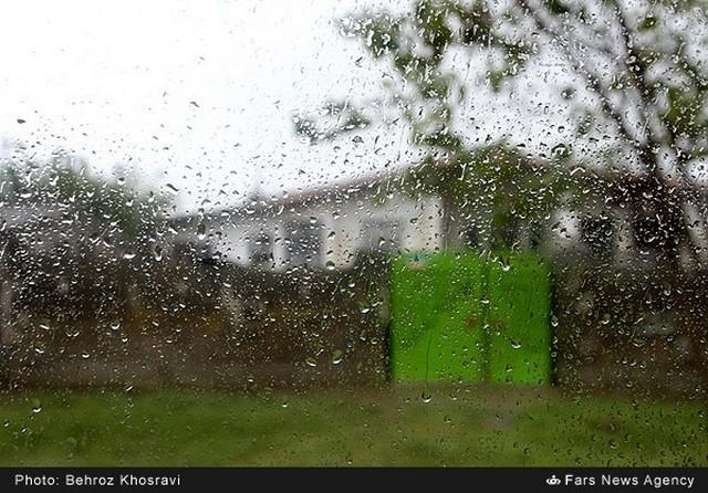 بارش باران پاییزی در مازندران (عکس)