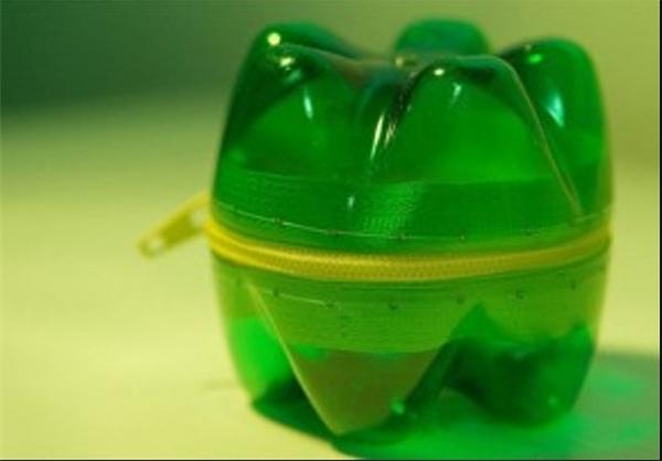 خلاقیت با بطریهای پلاستیکی