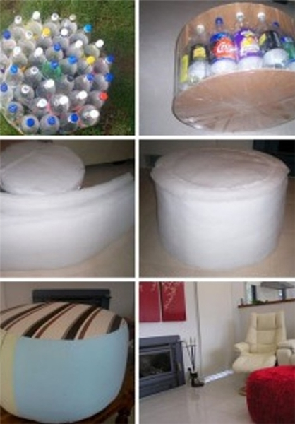 خلاقیت با بطریهای پلاستیکی (عکس)