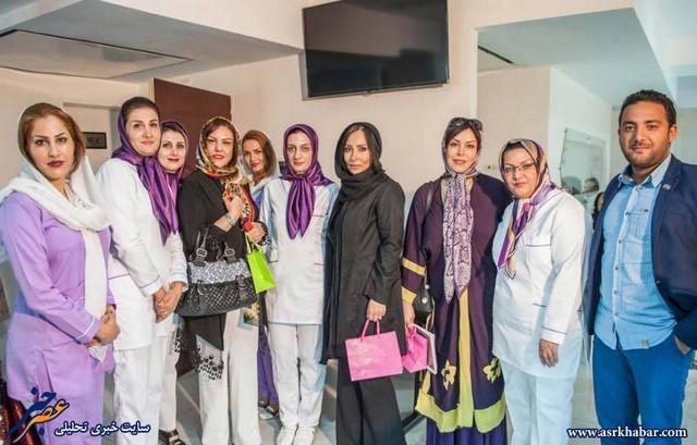 پرستو صالحی ،سحر زکریا در افتتاحیه کلینیک زیبایی (عکس)