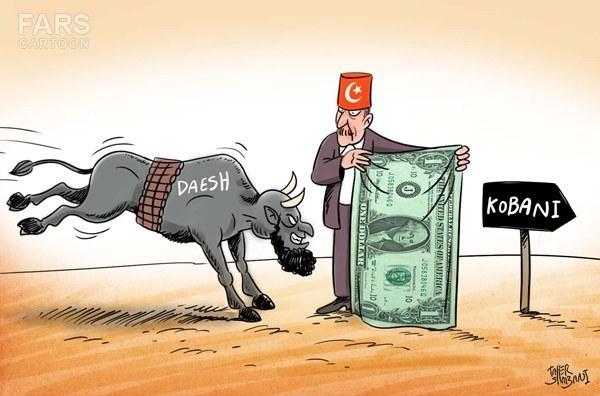 کمک های ترکیه به داعش