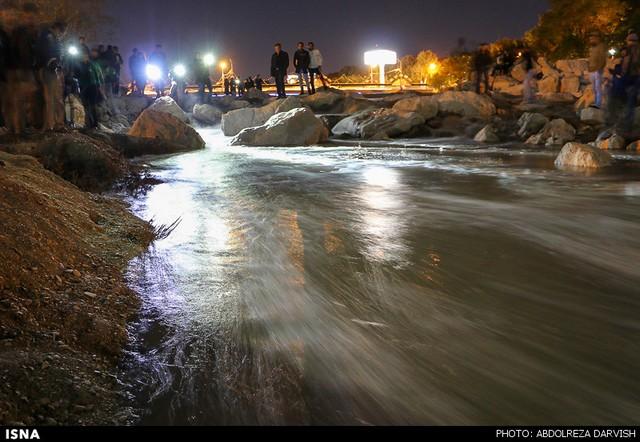 زاینده رود زنده شد (عکس)