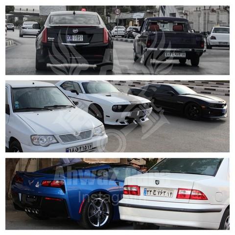گذر موقت اهواز خوردرو های گذر موقت خودروهای پلاک موقت خودرو لوکس در تهران خودرو لوکس در ایران