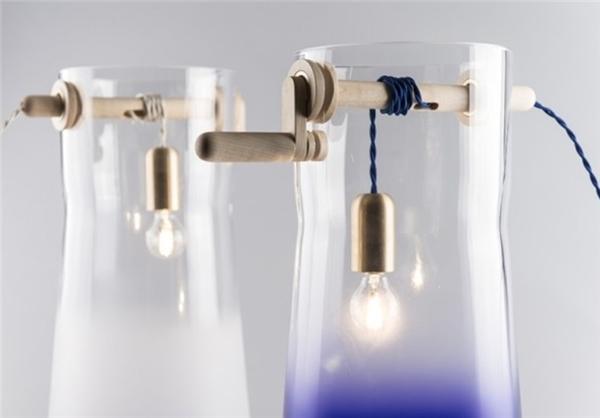 چاه آب شیشهای مخصوص روشنایی+تصاویر