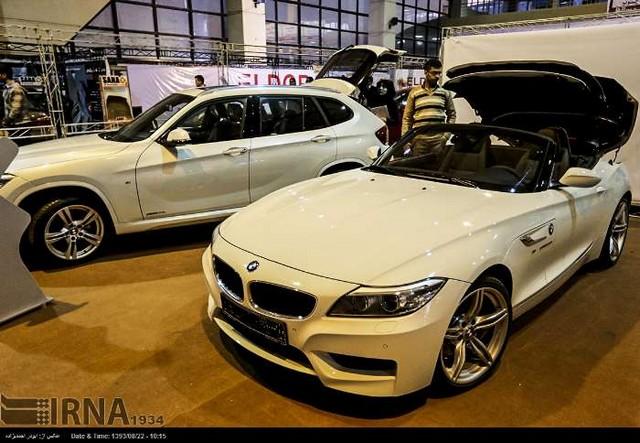 نمایشگاه خودرو در کرمان (عکس)