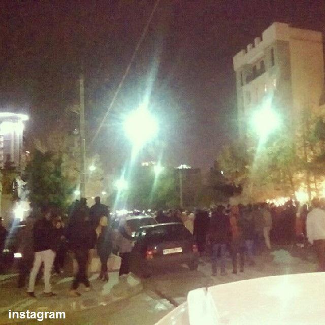 تجمع گرامیداشت پاشایی در شهرهای مختلف (+عکس)/ دستگیری چند نفر در مشهد