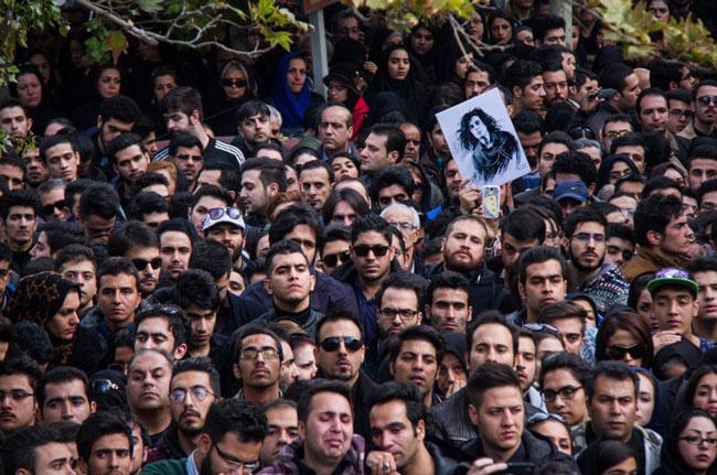 گزارش خبرنگار عصرایران از مراسم تشییع مرتضی پاشایی (+عکس)