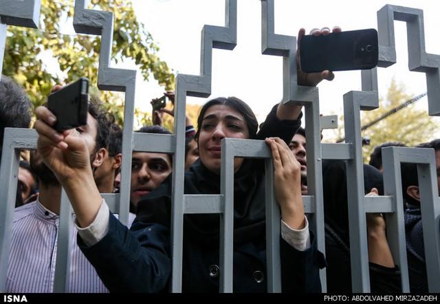 اشک هواداران مرتضی پاشایی (عکس)