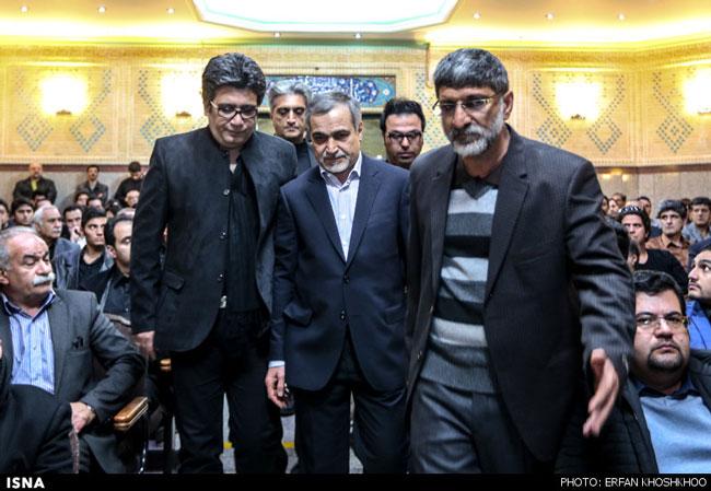 حضور برادر رییسجمهور در مراسم مرتضی پاشایی
