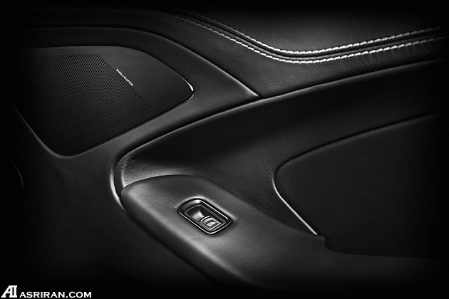 استون مارتین ونکوئیش کربن ادیشن؛ زیبای سیاه و سفید!