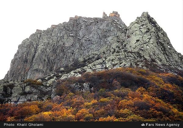 طبیعت پاییزی قلعه بابک - آذربایجان (عکس)