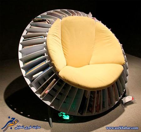 صندلی مخصوص کتابخوان ها (عکس)